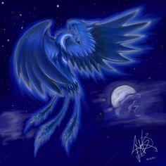 Blue Phoenix by Lucarah