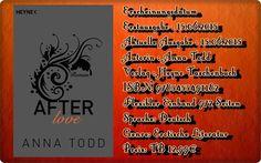 """Leserattes Bücherwelt: [Rezension] """" After love""""  Anna Todd"""