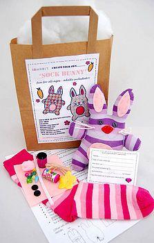 Sock Bunny Craft Kit