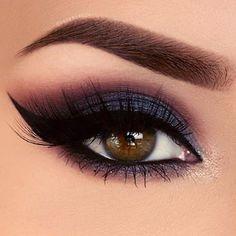 Perfect holiday glam eye makeup look! #holidaymakeup #dramaticeyemakeup