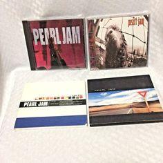 Pearl Jam CDs 4 Lot Ten Vs Last Kiss Yield Seattle Grunge Rock Vedder McCready