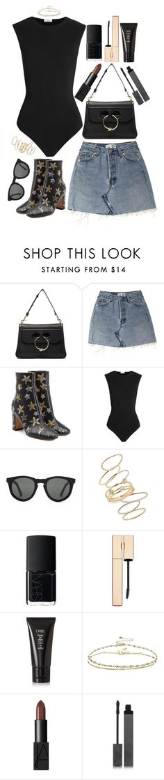 """Untitled #479"" by lindsjayne ❤ liked on Polyvore featuring J.W. Anderson, Valentino, Alix, Shwood, BP., NARS Cosmetics, Oribe, ASOS and Burberry"