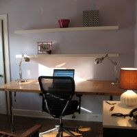 Designing and Building a Wall Mounted Desk #Desk #MountedDesk