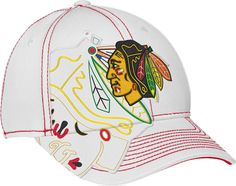 Chicago Blackhawks Draft Spin Stretch Fit by Reebok | Sports World Chicago $24.95  @ChicagoBlackhawks #ChicagoBlackhawks