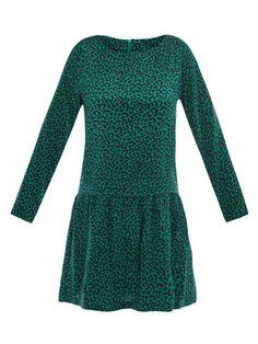 Sea NY leopard-print dress