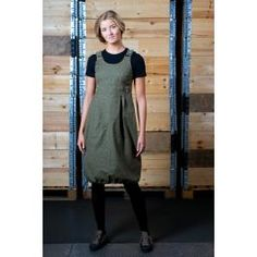 Haapa dress from upcycled army tents by Globe Hope