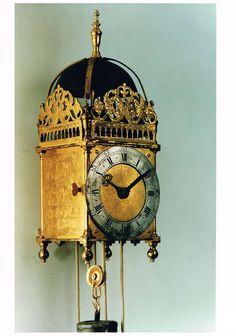 Antique Oriental Lantern Clock