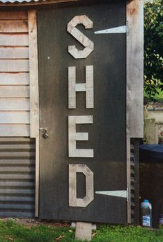 for the shed door :)