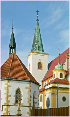 The church of St.Marc in Litovel, Czechia