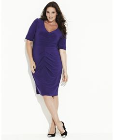 Magi-sculpt Fitted Dress at Simply Be