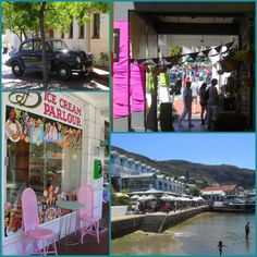 Simonstown - old buildings, made colourful by shopkeepers & residents Boulder Beach, African Penguin, Old Buildings, Cape Town, Bouldering, South Africa, Cottage, Colorful, Casa De Campo