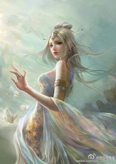 Discovered by find images and videos about art, awesome and fantasy on we heart it - the app to get lost in what you love. Anime Fantasy, Fantasy Girl, Foto Fantasy, 3d Fantasy, Fantasy Kunst, Fantasy Women, Art Anime Fille, Anime Art Girl, Fantasy Pictures