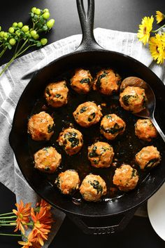 Maple Sweet Potato Chicken Meatballs | Community Post: 15 Delicious Ways To Eat Meatballs Like A Grown-Ass Adult