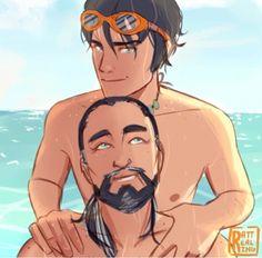 Percy and Poseidon