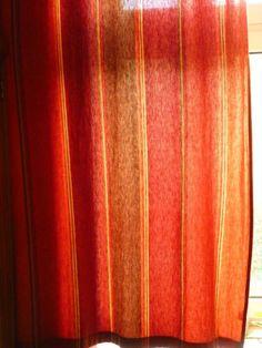 2 Vorhaenge Schals Rot Und Terracotta Schoener Indischer