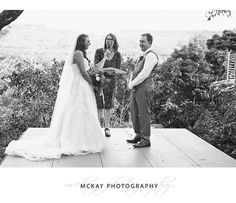 A shout out to @ninadeborde - a local Southern Highlands wedding celebrant who is just AWESOME. Nina is in action here making Mel & Matt feel totally relaxed having a laugh during their ceremony at @wildwood_kangaroo_valley  #mckayphotography #wildwood  #wildwoodwedding #kangaroovalley #kangaroovallywedding #wedding #bowralphotographer #southernhighlandswedding