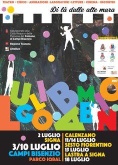 Luglio Bambino Festival 2017 Sonia Squilloni © 2017 Graphic designer  Brand Identity dell'evento e materiale coordinato di promozione, dal sito www.lugliobambino.com al manifesto