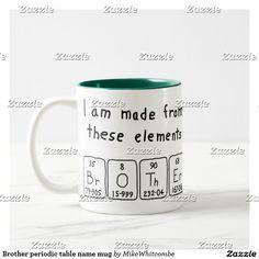 Cassidy periodic table name mug periodic table brother periodic table name mug urtaz Image collections