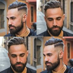 """New """"boy hairstyles images"""" Trending Boy Amazing hairstyle pic collection 2019 Short Hair With Beard, Mens Hairstyles With Beard, Cool Hairstyles For Men, Top Hairstyles, Hair And Beard Styles, Haircuts For Men, Short Hair Styles, Boys Haircut Styles, Beard Trend"""