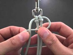 How to make a (Another) Solomon Paracord Dog or Pet Leash - YouTube