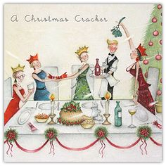 A Christmas Party with Mistletoe  , Ladies Who Love Life ... Berni Parker funny cute  Berni Parker Designs