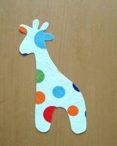 giraffe applique pattern free - Google Search