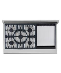 Gas range and griddle