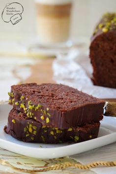 Zucchini-Schokolade Kastenkuchen