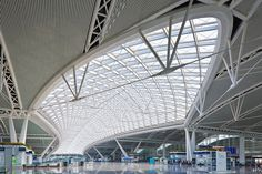 Naturally Daylit Guangzhou South Railway Station is a Critical Stop in China's High Speed Network | Inhabitat - Green Design, Innovation, Architecture, Green Building