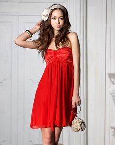 f5be2726e9648 Christmas party outfits 36 #outfit #style #fashion Red Dresses For Juniors,  Christmas
