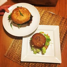 Vegan portobello burger ✌️️🍔🍽