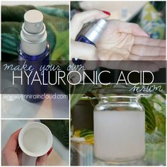 DIY Hyaluronic Acid Serum - Jenni Raincloud