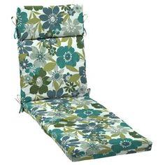 Patio Cushion Ideas   Hampton Bay Garden Grove Outdoor Chaise Cushion   The  Home Depot