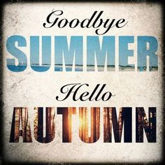 goodbye summer hello autumn pics | Goodbye summer, hello autumn! / halloween…