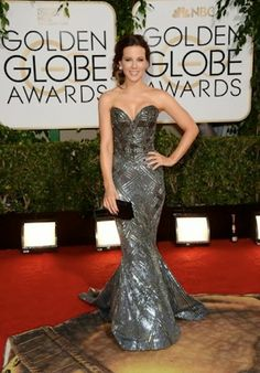 Linen, Lace, & Love: Fashions we LLLoved from the Golden Globes 2014 Kate Beckinsale in Zuhair Murad