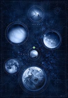 """Doaly's Obsession With Bungie's """"Destiny"""" Pays Off With A Pristine Print: """"Map of the Heaven"""" Cayde Destiny, Destiny Video Game, Destiny Bungie, Destiny Tattoo, Destiny Hunter, Destiny Warlock, Destiny Comic, Destiny Backgrounds, Asesins Creed"""