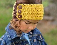 CROCHET PATTERN Au Naturel Warmer crochet headwrap by TheHatandI