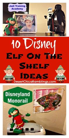 c125383380a7e Elf On The Shelf Disney  Visiting Tomorrowland  ElfOnTheShelf Christmas  Trips