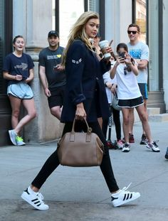 Gigi Hadid Photos: Taylor Swift and Gigi Hadid Leave Her NYC Apartment