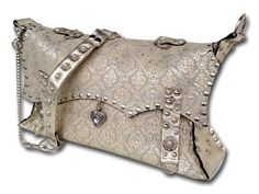 Handmade leather bag (silver gold sandy) Leather Bags Handmade, Shoulder Bag, Shoe Bag, Silver, Gold, Stuff To Buy, Accessories, Shopping, Shoes