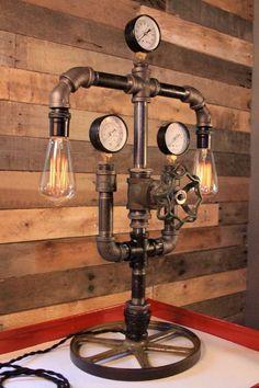 PIPE LAMP #pipe #desklamp #design #edison