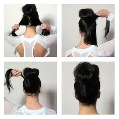 Fast hair style for spring! #hair #style #blogger #tutorial #frenchtwist #bun #runway #spring #trends