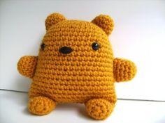 Crochet bear? Cute ....