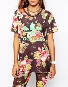 be081a0ba64da Enlarge Adidas Originals X Farm Fruit Bowl T-Shirt Adidas Mode, Hüte Für  Frauen