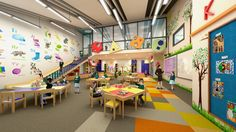 Obviously, since children spend plenty of time in classrooms, it's essential that those classrooms are designed to provide a conducive environment. Teacher Lesson Plans, Classroom Environment, International School, School Design, Elementary Schools, Curriculum, Most Beautiful, Preschool, How To Plan
