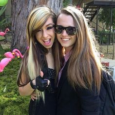 Christina Grimmie and Bria Kelly