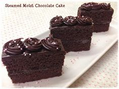 Tested & Tasted: Steamed Moist Chocolate Cake