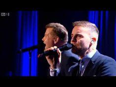 Gary Barlow & James Corden - Pray @ Manchester Apollo - YouTube