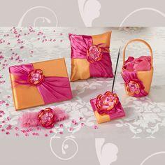 Hot Pink & Orange Wedding Collection