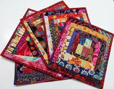 Exuberant Color: Backings, mug rug binding.........